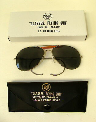 Usaaf/usn Pilot Sunglasses With Case