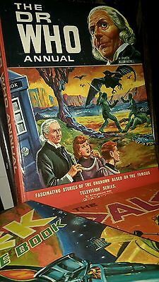 Vintage WILLIAM HARTNELL THE DR WHO ANNUAL