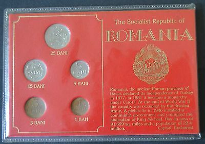 Romamia coin set in folder