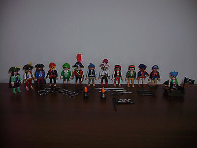 Playmobil Konvolut Piraten Figuren tipo pion corsair buccaneer pirata pirate
