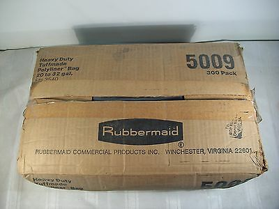 Rubbermaid Heavy Duty Tuffmade Polyliner Trash Bags #5009  20-32 Gallon Capacity