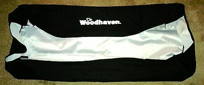The Woodhaven firewood 38 inch rack cover