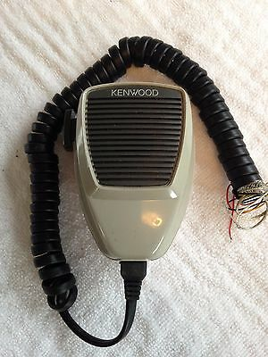 Kenwood - Mobile Radio Palm Fist Dynamic Microphone With Ptt