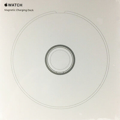New! Genuine Original Apple Watch Magnetic Charging Dock - White (MLDW2AM/A)