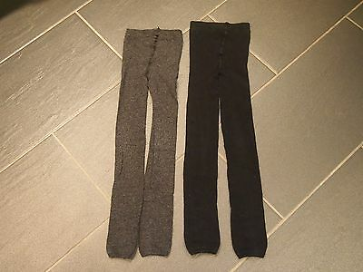 Set of footless tights age 6-8 years