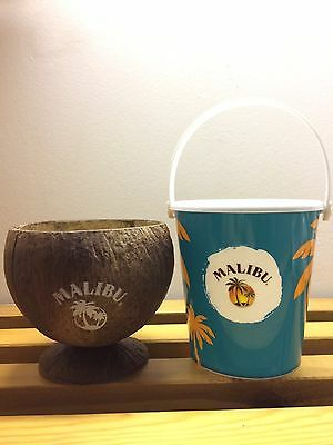 Malibu Coconut Cup & Cocktail Bucket *Brand New*