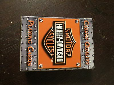 Harley Davidson Motorcycles Playing Cards Casino Quality Complete
