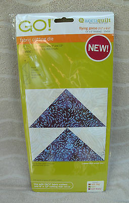 "Accuquilt Go! Fabric Cutting Die ""Fall Medley"" - #55041 ~ NEW"