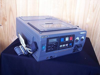 Sony Portable Videocassette Recorder VO-8800 U-Matic SP with shoulder strap