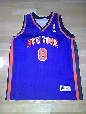 Camiseta de Jugador Basket NBA Latrell Sprewell  New York Nicks xxl  Champion