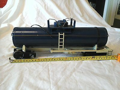 G Scale Oil Tanker Some Damage To Tanker See Pic`s                    (D)