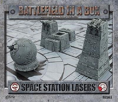 Battlefield in a Box: Space Station Lasers Terrain By Battlefront BB563
