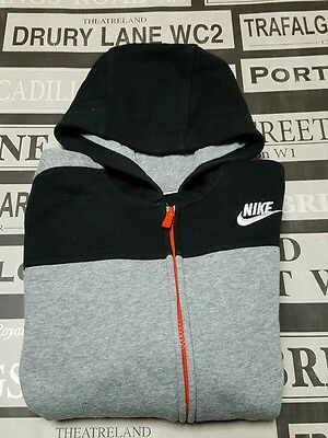 Genuine childrens NIKE sports hoodie tracksuit top aged 8-10