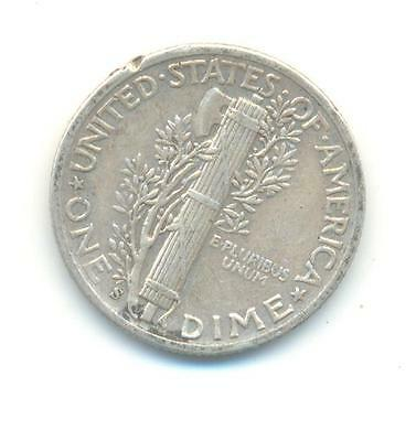 Very Nice Rare.u.s.a.dime.1943.mint Mark.s.in Silver..very Collectable.a.191