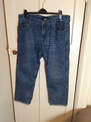 Red Route Mens Biker Jeans Size 38