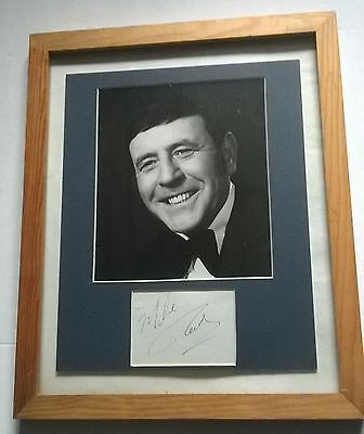 Framed Mike Read ( Eastenders ) Picture With Hand Signed Autograph