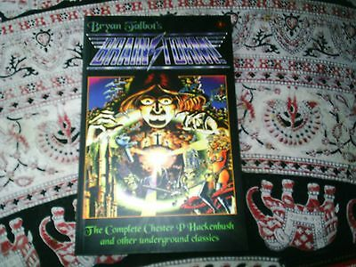 Bryan Talbot -Brainstorm Complete PBK RARE/Furry Freak Brothers/Luther Arkwright