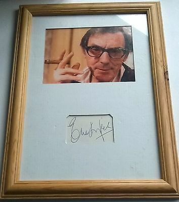 Framed Eric Sykes Picture With Hand Signed Autograph