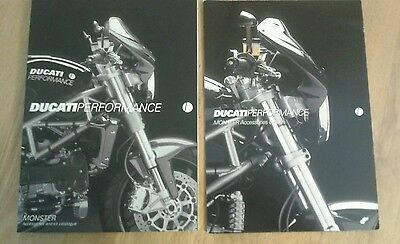 Ducati Monster Performance and Customising Catalogues 2003 2004. Very rare. VGC