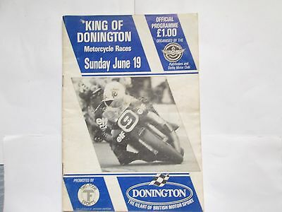 KING OF DONINGTON SUNDAY JUNE 19th 1988 OFFICIAL PROGRAMME
