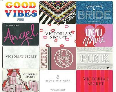 Lot (12) Victoria's Secret / Pink Gift Cards incl Diecut No $ Value Collectible