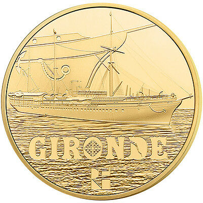 [#91495] France, 50 Euro, 2015, MS(65-70), Gold, 8.45