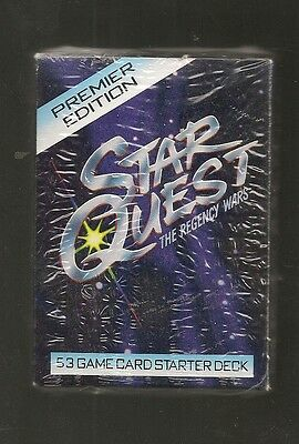 Premier Edition  Star Quest Game Card Starter Pack