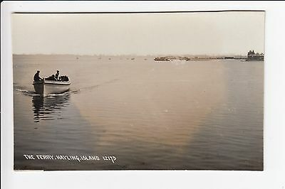 The Ferry (Boat) Hayling Island Hampshire Real Photo Postcard