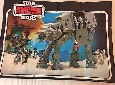 Vintage Star Wars Empire Strikes Back At-At Toy Poster