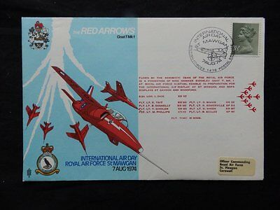 Gb Special Red Arrows Cover Carried By Raf Aerobatic Team