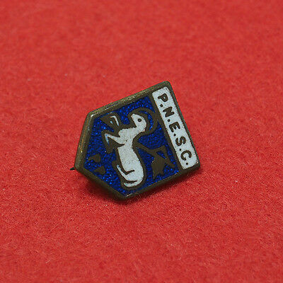 Old Preston North End Supporters Club Enamel Badge