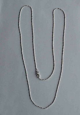 "30"" long - 925 STERLING SILVER CHAIN"
