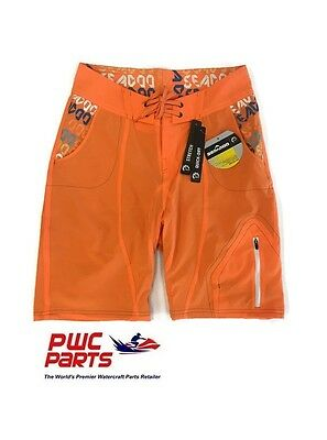 Seadoo Pulse Board Shorts (Orange) 2863533712 Size 30
