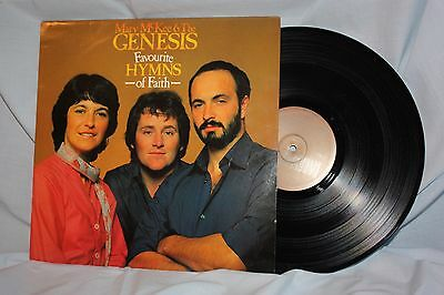 """Mary McKee & the Genesis  """" Favourite Hymns of Faith """"  L.P."""