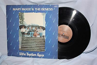 """Mary McKee & the Genesis """" We're together again """" L.P."""