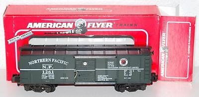 American Flyer 6-46492 Northern Pacific Boxcar TCA 1995 Seattle Convention 1261