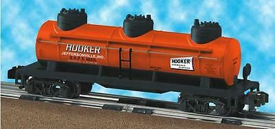 American Flyer 6-48415 Hooker Chemicals Triple Dome 3 dome tank car Indiana SHPX