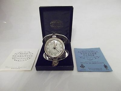 Pre-Owned Grants Of Dalvey Scotland Voyager Clock - Travel Alarm