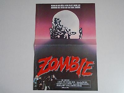 Zombie Dawn of the Dead George A Romero small German Poster