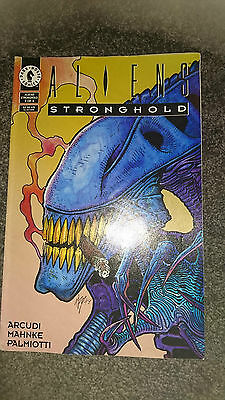 Aliens Stronghold Comic 3 Of 4