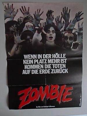 Zombie Dawn of the Dead George A Romero German poster - style B.