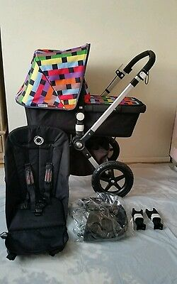Stunning Limited edition Bugaboo cameleon 3 with Missoni  fabric set.