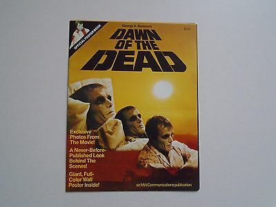 Zombie Dawn of the Dead George A Romero USA full colour Poster magazine / poster