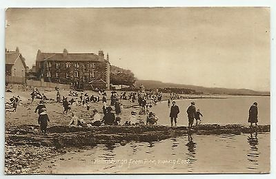 POSTCARD-SCOTLAND-HELENSBURGH-PTD. Helensburgh from The Pier, Looking East.