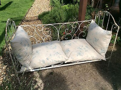 Vintage French Metal Day Bed/cot