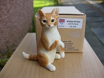 Original Sherratt And Simpson Kitten With Paw In The Air (875 Gin)