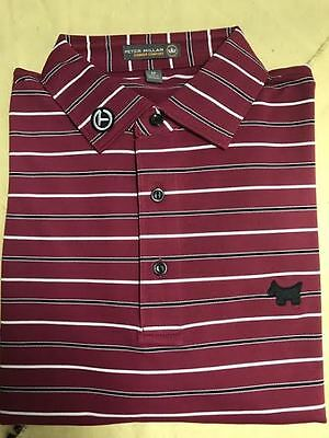 Scotty Cameron Scotty Dog Glenwood Stripe Mesh Polo Large Only