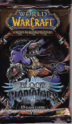 WORLD OF WARCRAFT TCG - Blood of Gladiators Cards Booster Packs (20) #NEW