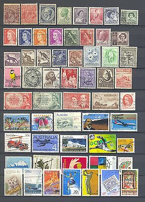Australia - Set of classic and modern stamps - n°1