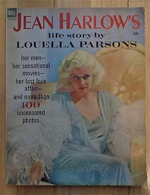 Jean Harlow's Life Story by Louella Parsons magazine 1937